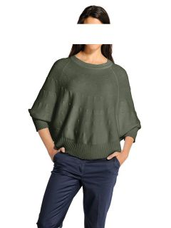 Cape-Pullover, oliv von H**** -Best Connections