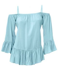 Carmenbluse, mint von Ashley Brooke