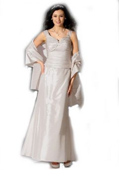 Brautkleid-Set 3-tlg., puder von Laura Scott Wedding