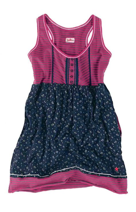 Longtop, blau-pink von Joe Browns